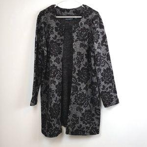 Cynthia Rowley women's Floral Cardigan Sweater